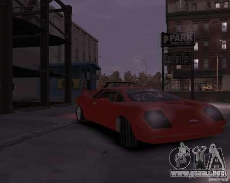 Infernus - Vice City para GTA 4 left