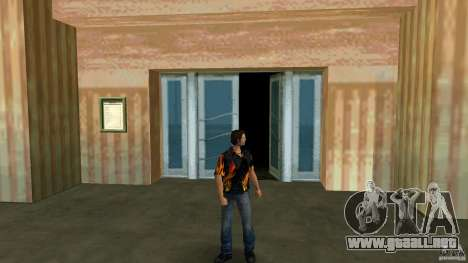 Señor fuego con blue jeans para GTA Vice City