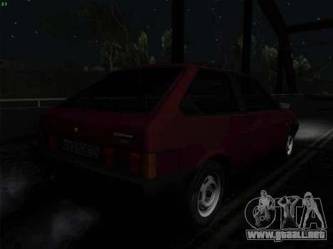 VAZ 21083i para la vista superior GTA San Andreas