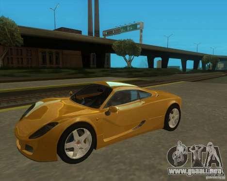 Ginetta F400 para GTA San Andreas