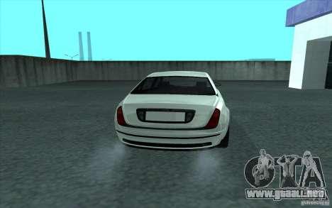 Cognoscneti de GTA 4 para GTA San Andreas vista posterior izquierda