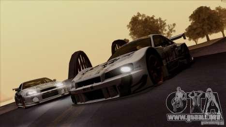 SA Beautiful Realistic Graphics 1.4 para GTA San Andreas sucesivamente de pantalla