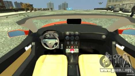 Alfa Romeo GTV Spider para GTA 4 visión correcta