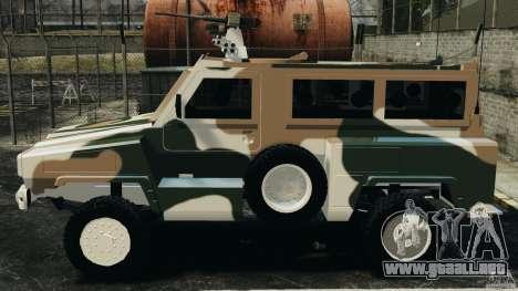 RG-31 Nyala SANDF para GTA 4 left