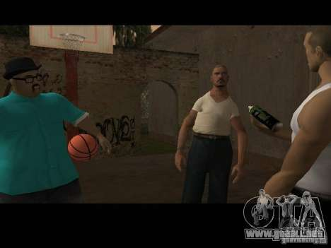 Varrio Los Aztecas para GTA San Andreas séptima pantalla