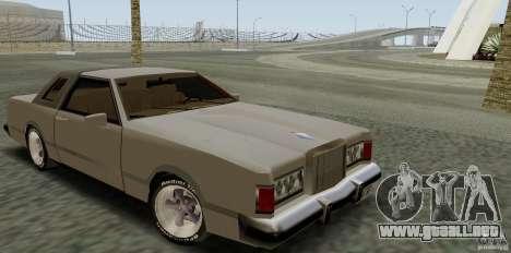 Virgo Continental para GTA San Andreas