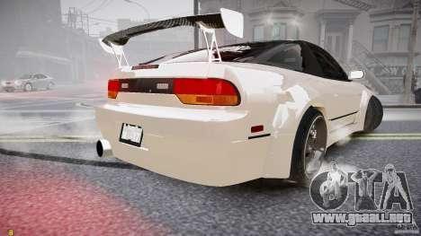 Nissan Sileighty para GTA 4 Vista posterior izquierda