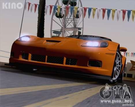 Chevrolet Corvette C6 Z06R GT3 v1.0.1 para vista inferior GTA San Andreas