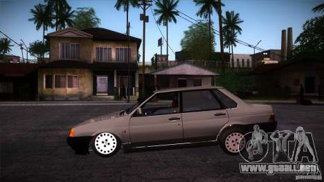 Fiat Regata para GTA San Andreas left