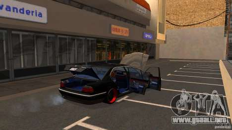 BMW E38 750LI para vista lateral GTA San Andreas