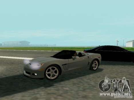 Chevrolet Corvette C6 GS Convertible 2012 para GTA San Andreas