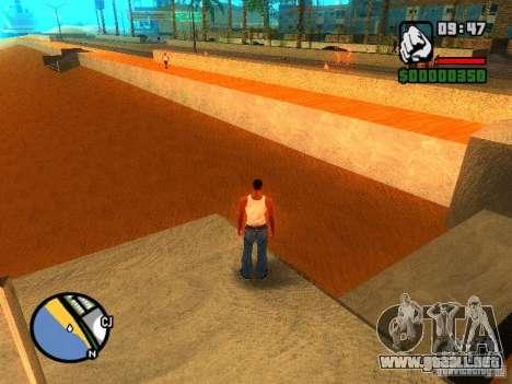 Texturas de East Beach para GTA San Andreas tercera pantalla