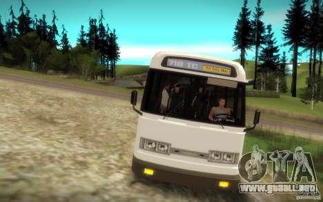 NFS Undercover Bus para la visión correcta GTA San Andreas