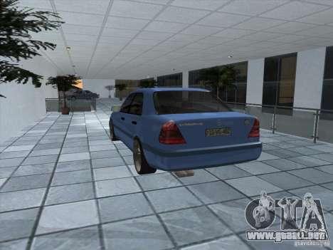 Mercedes Benz C220 para la visión correcta GTA San Andreas