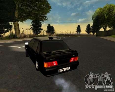 TJK VAZ 2115 para la visión correcta GTA San Andreas