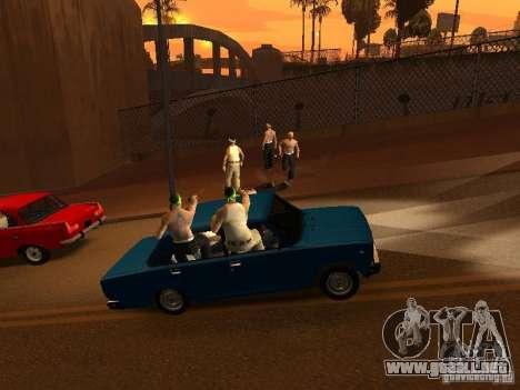 Vagosy-Grove para GTA San Andreas tercera pantalla
