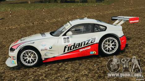 BMW Z4 M Coupe Motorsport para GTA 4 left