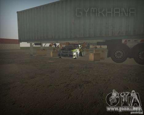 Gymkhana mod para GTA Vice City segunda pantalla