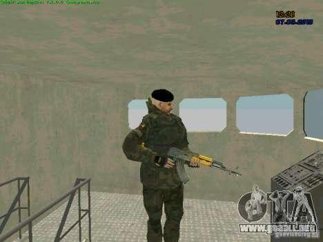 RF Marine para GTA San Andreas tercera pantalla