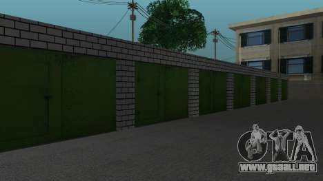 Estructura de garajes y edificios en SF para GTA San Andreas séptima pantalla