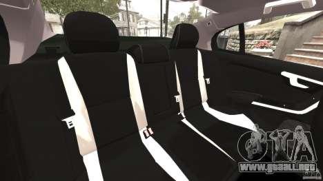 Volvo S60 R Design para GTA 4 vista lateral