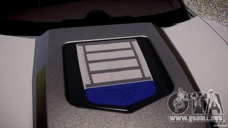 Chevrolet Corvette ZR1 2009 v1.2 para GTA 4 ruedas