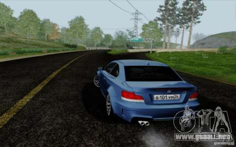 BMW 1M 2011 V3 para GTA San Andreas left