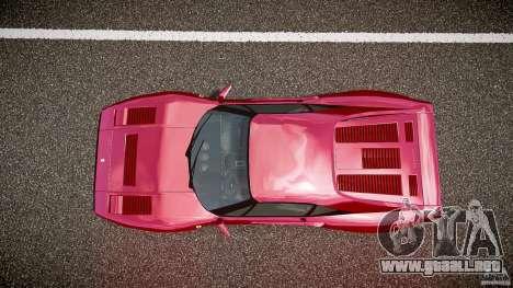 Ferrari 288 GTO para GTA 4 vista superior
