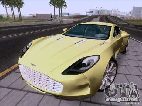 Aston Martin One-77 2010 para GTA San Andreas