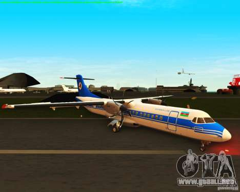 ATR 72-500 Azerbaijan Airlines para GTA San Andreas left