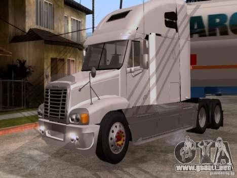 Freightliner Century para GTA San Andreas left