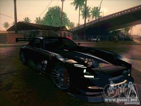 Mercedes-Benz SLS AMG GT-R para visión interna GTA San Andreas