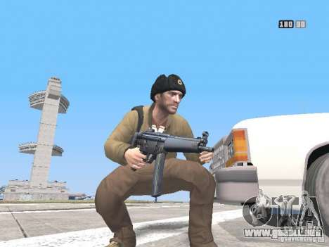 HQ Weapons pack V2.0 para GTA San Andreas décimo de pantalla