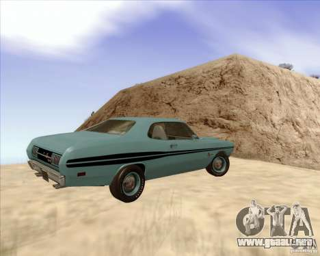 Dodge Demon 1971 para GTA San Andreas left