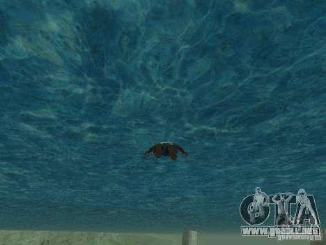 Agua de textura para GTA San Andreas segunda pantalla