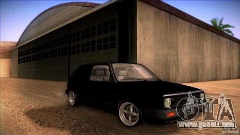 Volkswagen Golf MK II para GTA San Andreas