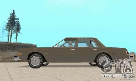 Dodge Diplomat 1985 v2.0 para la visión correcta GTA San Andreas