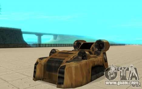 El vórtice del juego Command y Conquer Renegado para GTA San Andreas