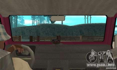 Land Rover Defender 110SW para la visión correcta GTA San Andreas