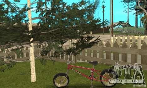 BMX Long 2 para la visión correcta GTA San Andreas