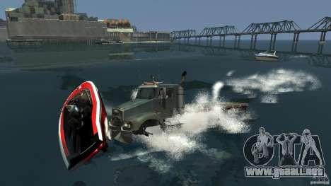 Biff boat para GTA 4 visión correcta