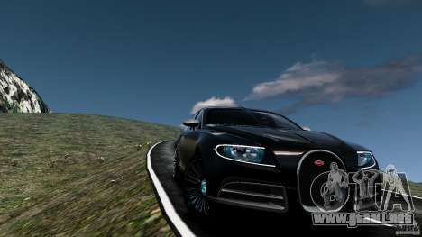 Bugatti Galibier 2009 para GTA motor 4