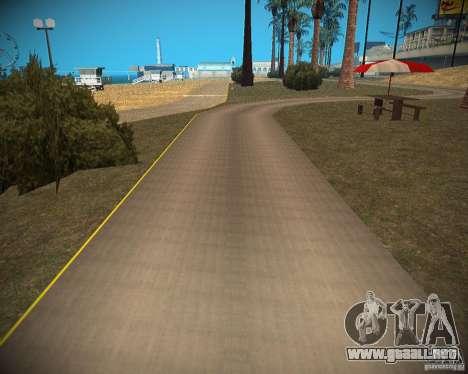 New textures beach of Santa Maria para GTA San Andreas séptima pantalla