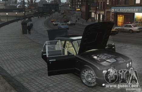 Bentley Arnage T v 2.0 para GTA 4 vista superior