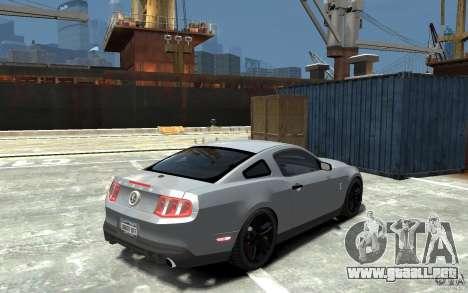 Ford Shelby GT500 v.1.0 para GTA 4 visión correcta