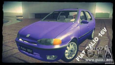 Fiat Palio 16v para GTA San Andreas