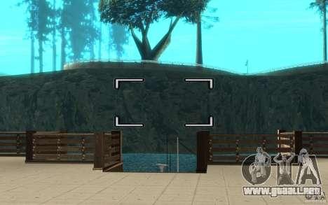 Digicam para GTA San Andreas segunda pantalla