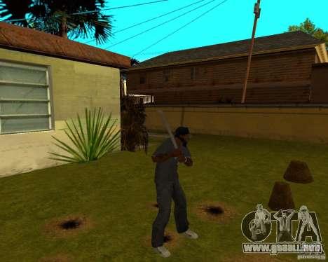 Pipa de agua para GTA San Andreas segunda pantalla