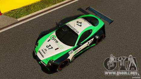 Alfa Romeo 8C Competizione Body Kit 2 para GTA 4 vista superior