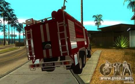 KAMAZ 43118 CA-7, 0-40 para GTA San Andreas left